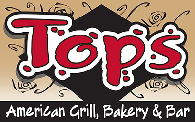 Tops American Grill Mobile Retina Logo